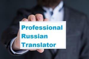 looking for russian translator